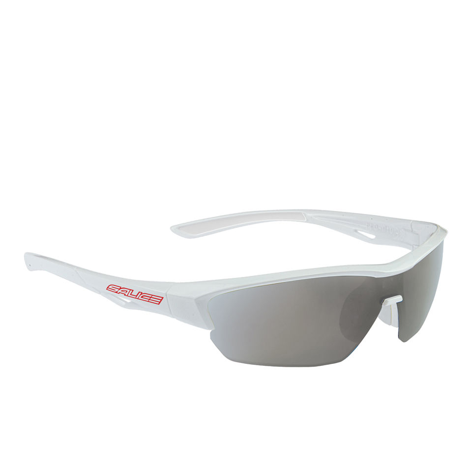 Salice 011 CRX Sport Sunglasses - Photochromic - White/CRX Smoke