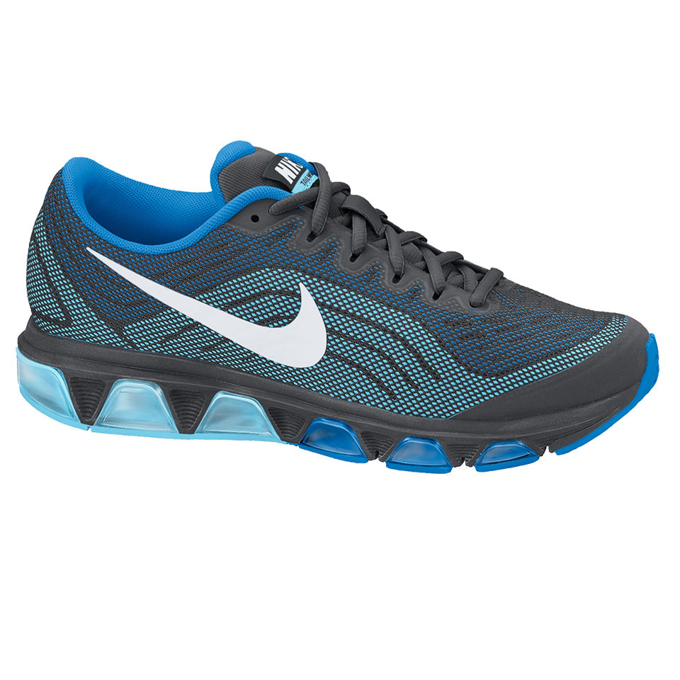 uk availability c076a 3e2e0 Nike Men s Air Max Tailwind 6 Running Shoes - Anthracite Blue Sports    Leisure   TheHut.com