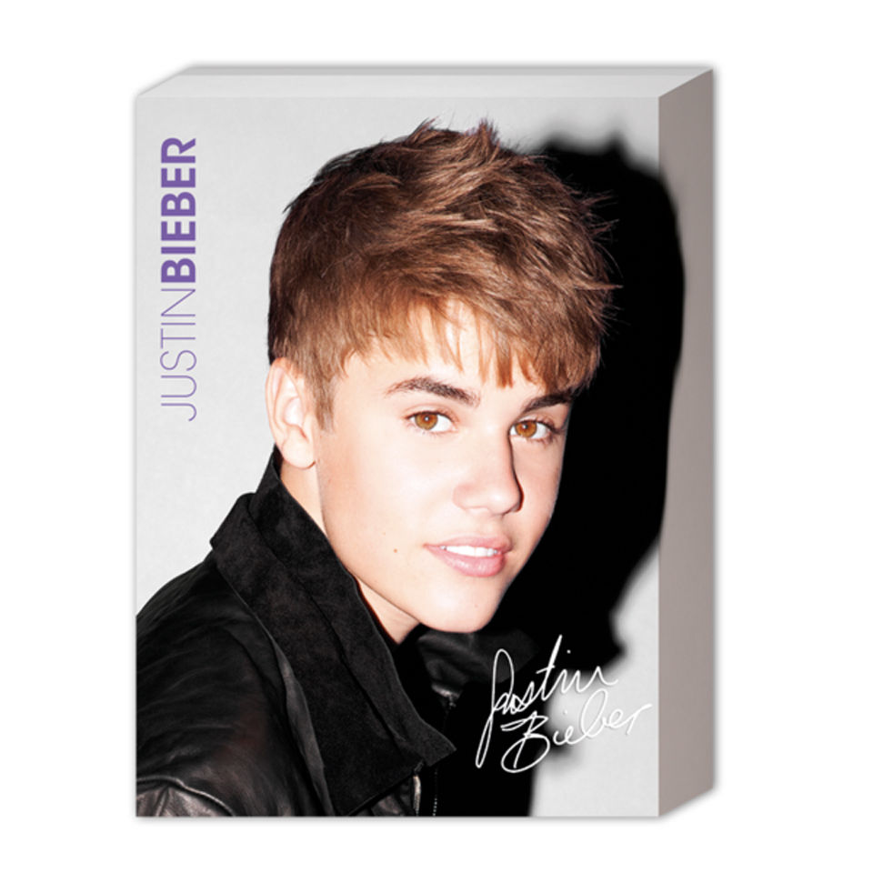 Justin Bieber Pin Up 40 X 30cm Canvas Merchandise Zavvi
