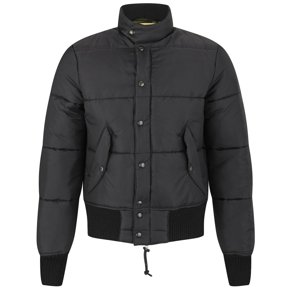 Monitaly Men's Quilt Jacket - Black