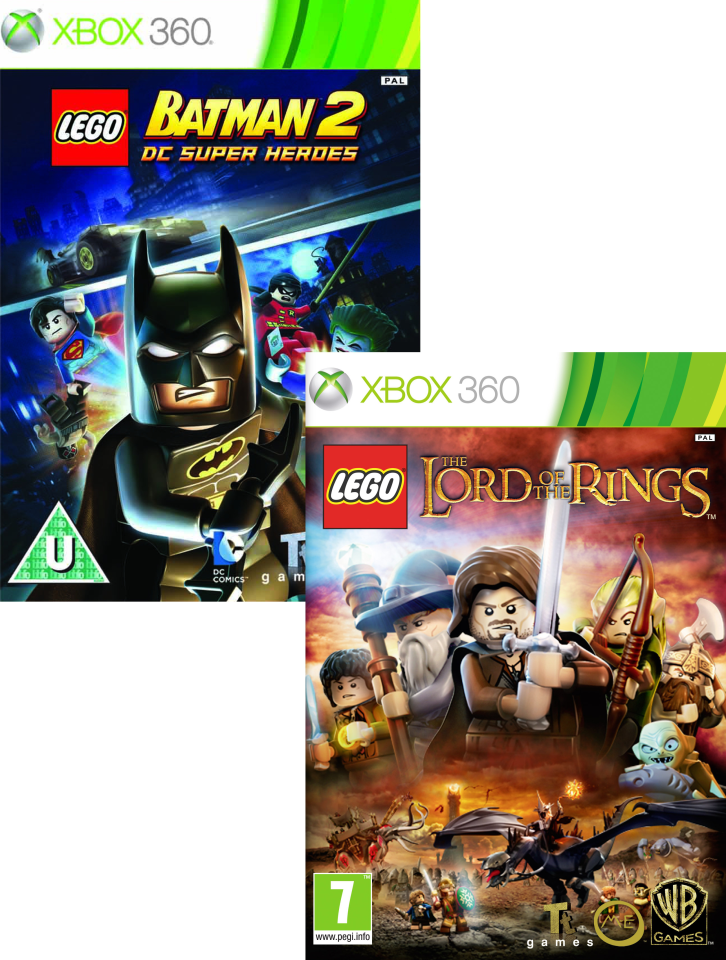 Lego Lord Of The Rings And Lego Batman 2 Dc Super Heroes