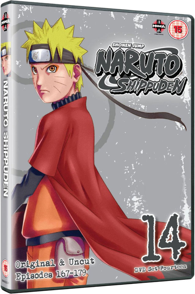 Naruto Shippuden Collection 14 (Episodes 167-179)