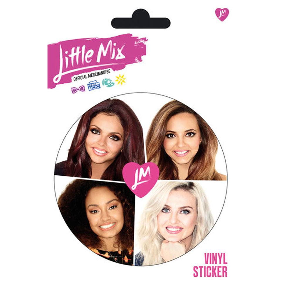 Little Mix Faces Vinyl Sticker 10 X 15cm Merchandise