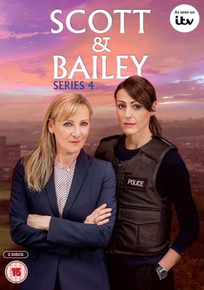 Scott Amp Bailey Series 4 Dvd Zavvi