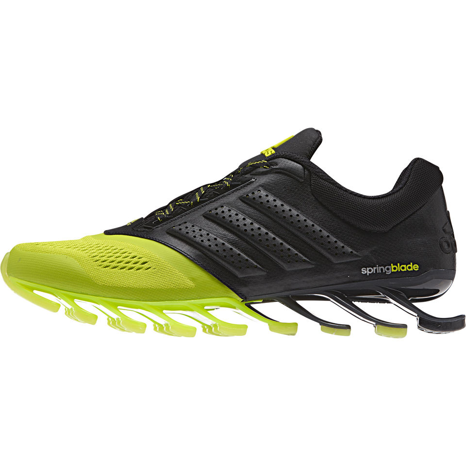 adidas Men's Springblade Drive 2 Running Shoes BlackYellow