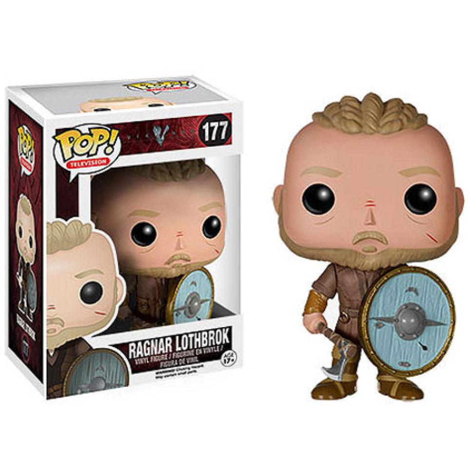 Vikings Ragnar Lothbrok Pop Vinyl Figure My Geek Box