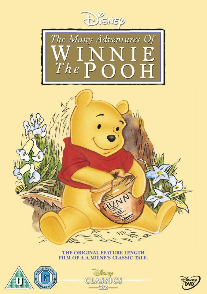 Many Adventures Of Winnie The Pooh Dvd Zavvi