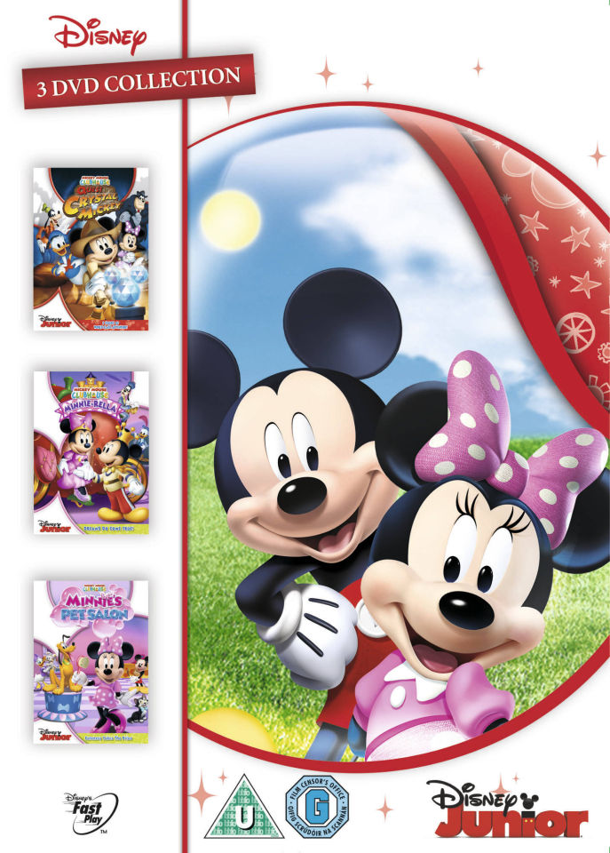 Mickey Mouse Clubhouse Triple Minnie Rella Quest For