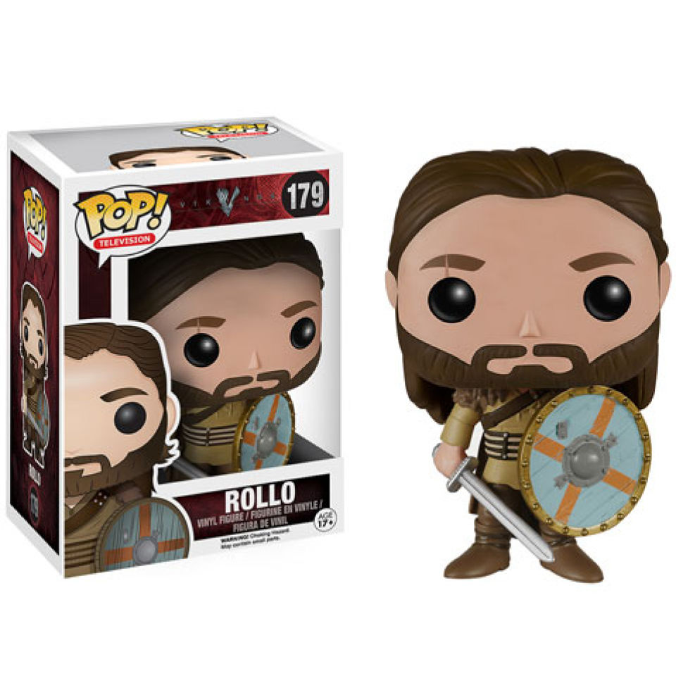 Vikings Rollo Pop! Vinyl Figure