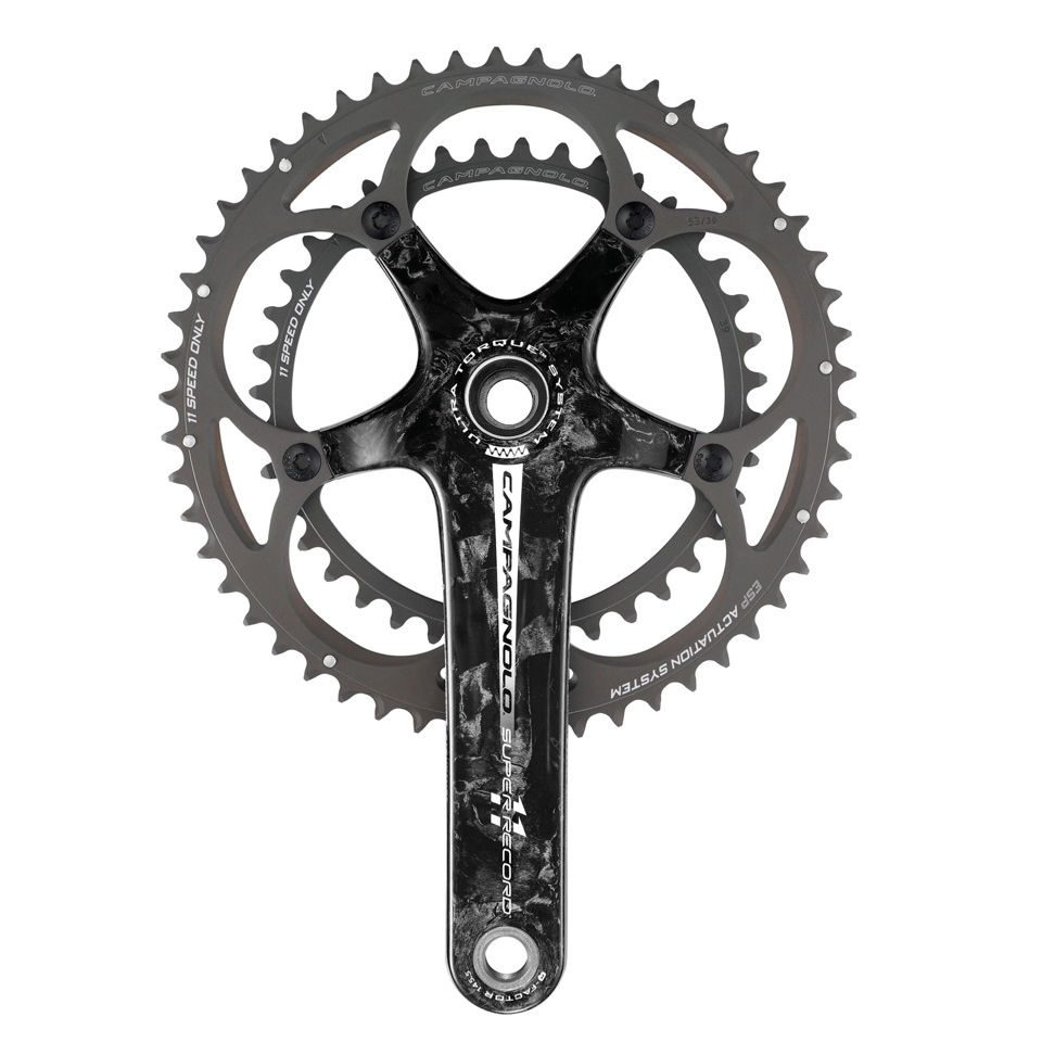 Campagnolo Super Record Ultra-Torque Bicycle Chainset - 11 Speed