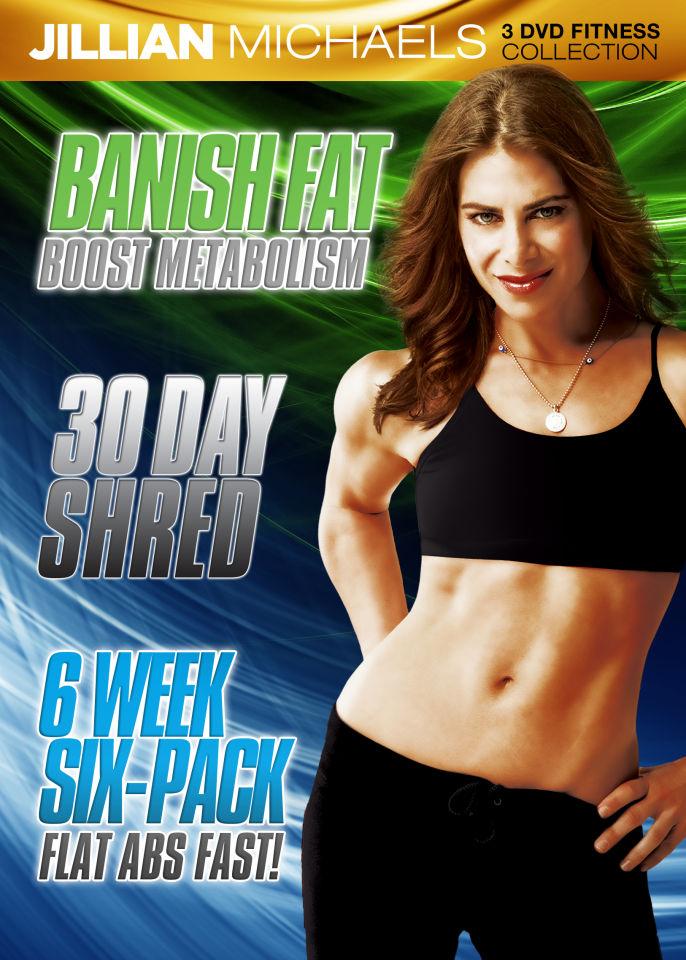 Jillian Michaels Triple Fitness Pack Dvd Zavvi