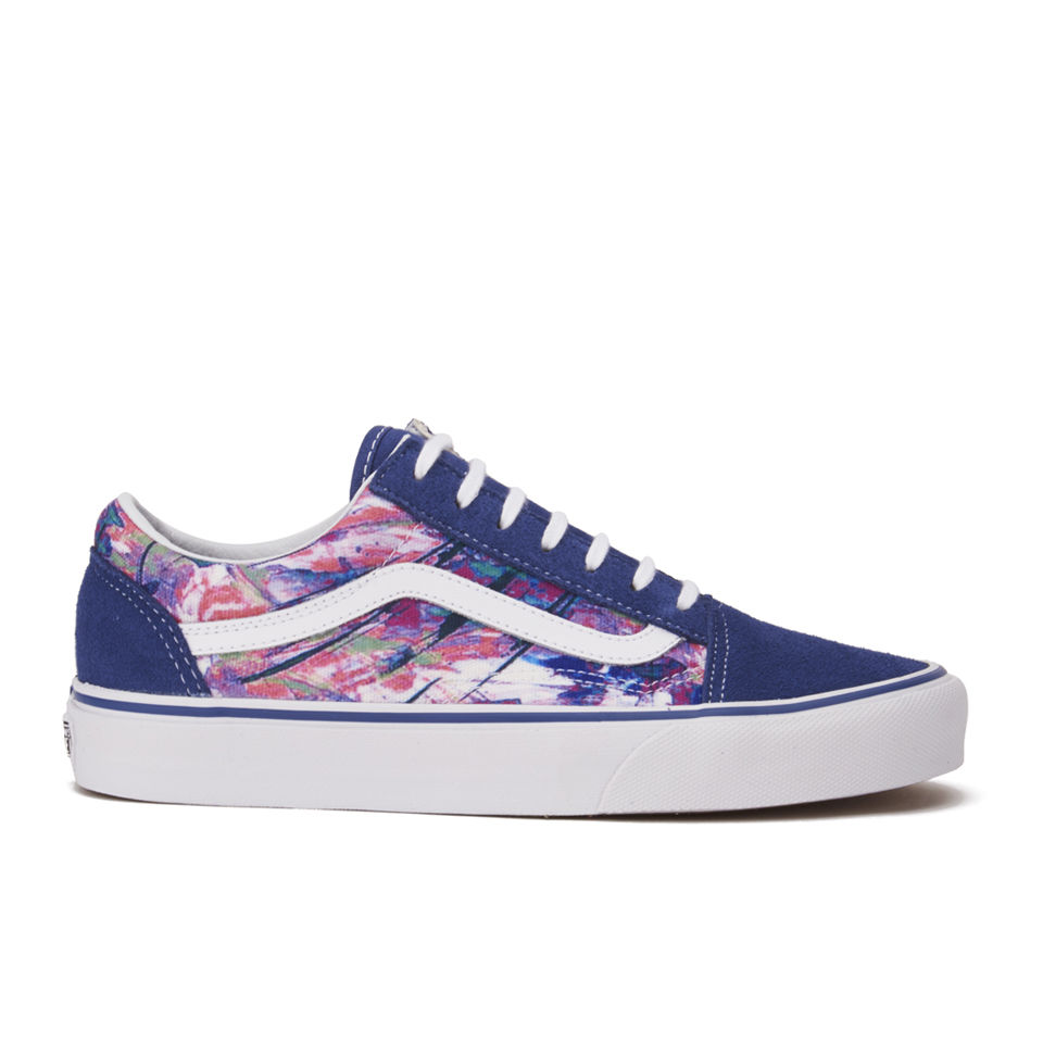 Vans Women's Old Skool Multi Paint Trainers Purple
