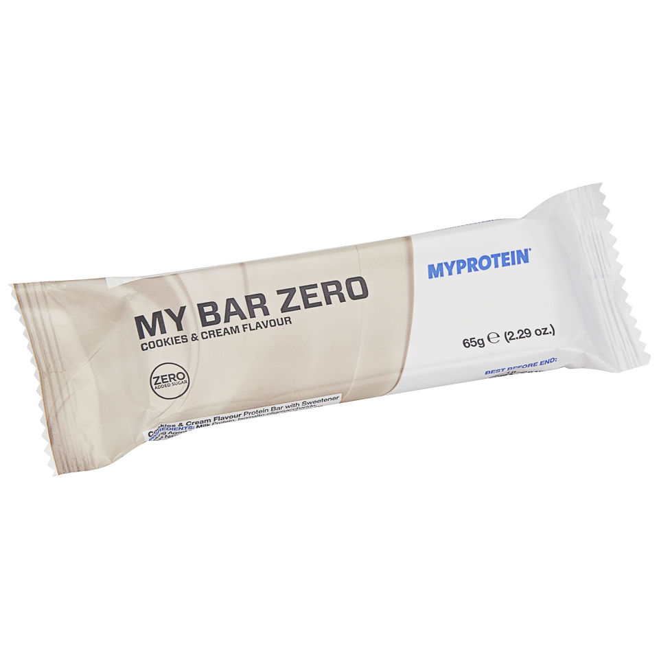My Bar Zero - 1 x 65g - Lemon Cheesecake - 1 Bar