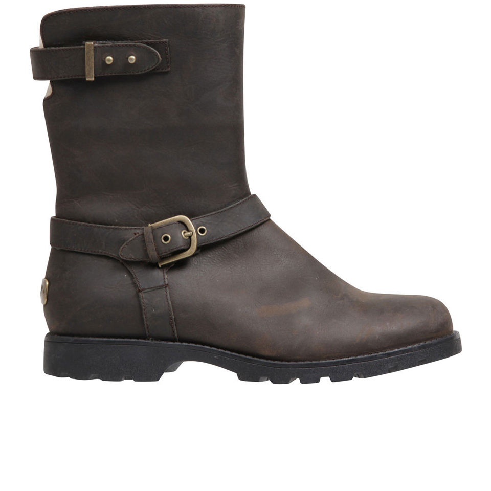 bc938a08c41 UGG Women's Grandle Leather Buckle Boots - Java
