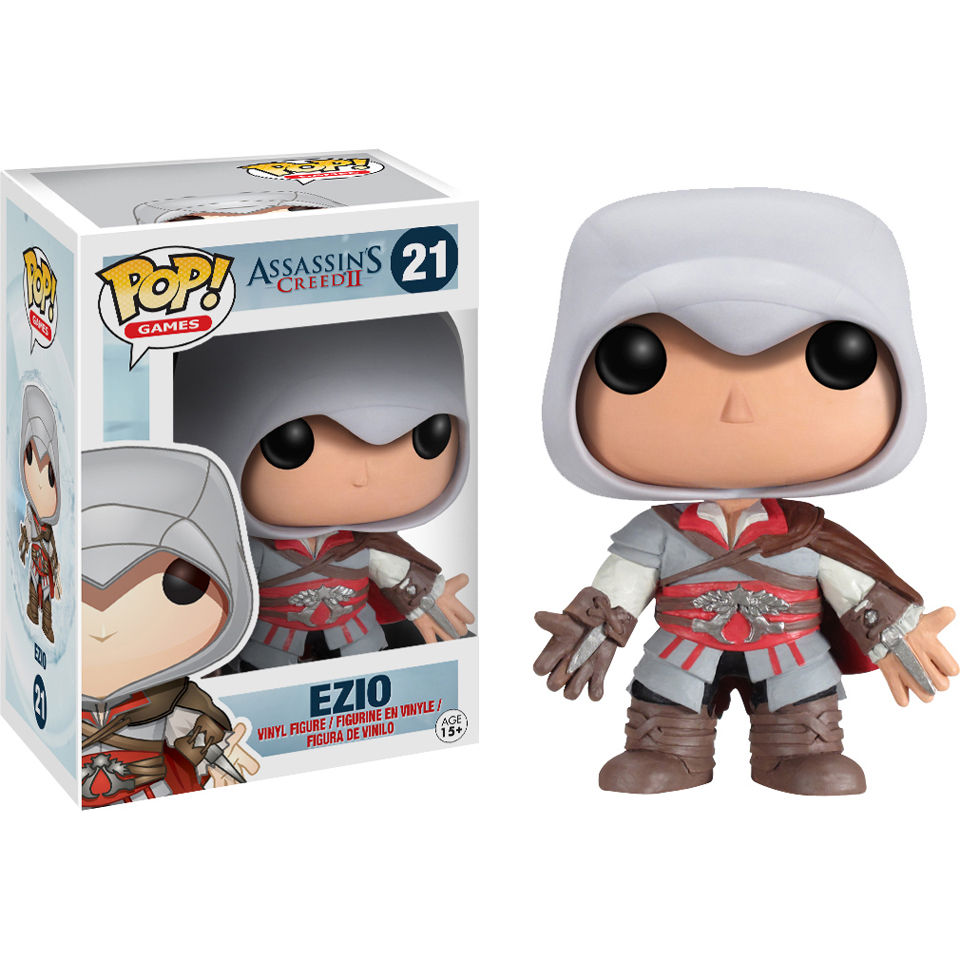 Assassins Creed Ezio Pop! Vinyl Figure