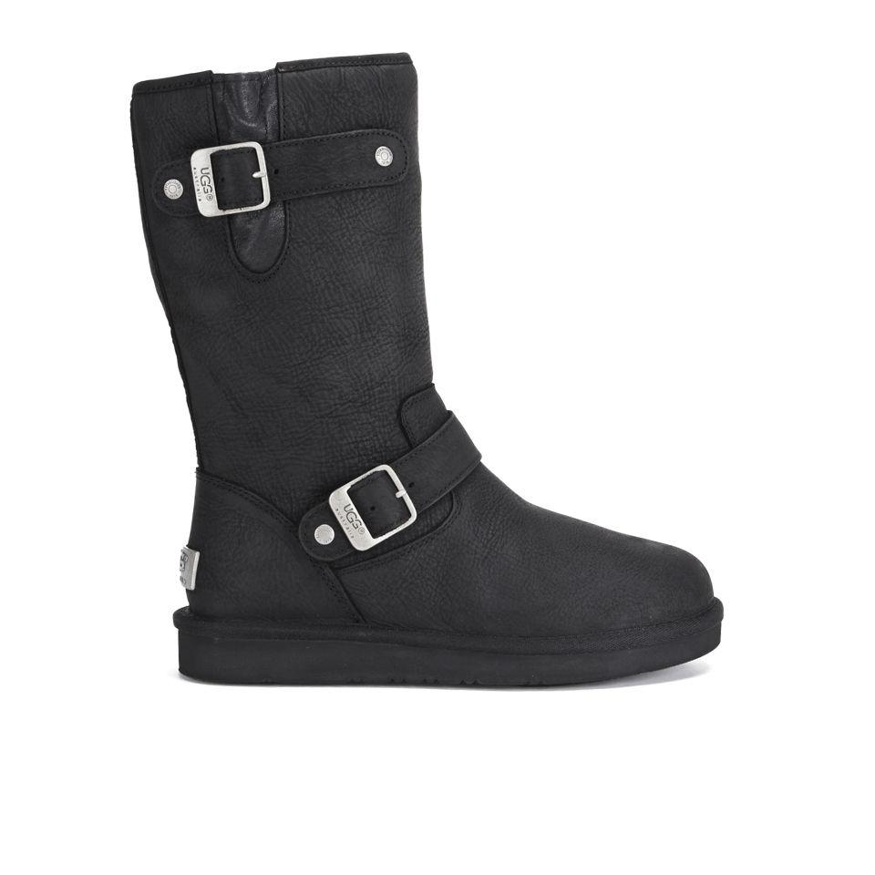 38da04872f3 UGG Women's Sutter Waterproof Leather Buckle Boots - Black