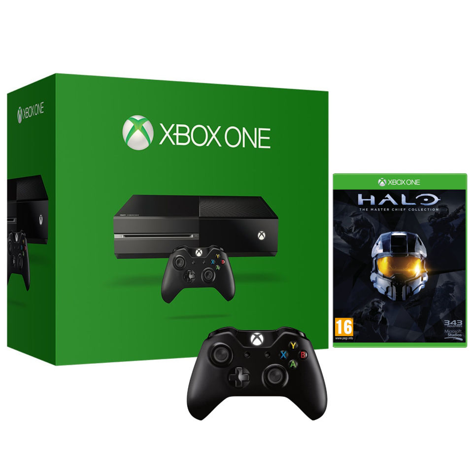 Best Xbox Controller >> Xbox One Console - Halo: The Master Chief Collection ...