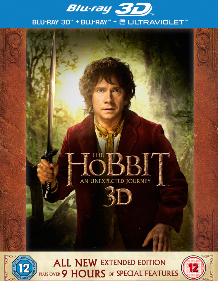 The Hobbit: An Unexpected Journey - Extended Edition 3D (Includes 2D Version and UltraViolet Copy)