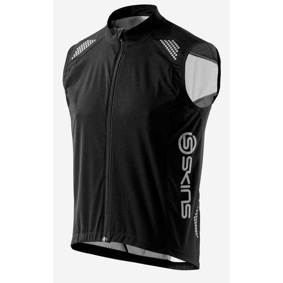 d63bbf6cb Skins C400 Wind Vest - Black Grey