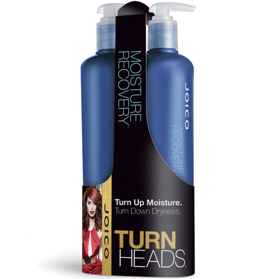 f2a2d30cd53 Joico Moisture Recovery Shampoo and Conditioner (2 x 500ml). Showing image  0 - null
