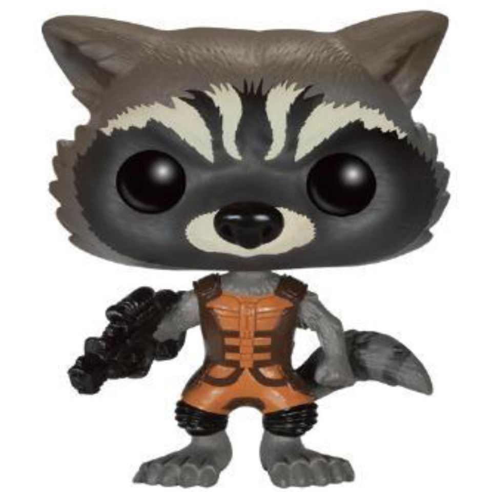 Guardians Of The Galaxy Rocket Raccoon Pop Vinyl Figure