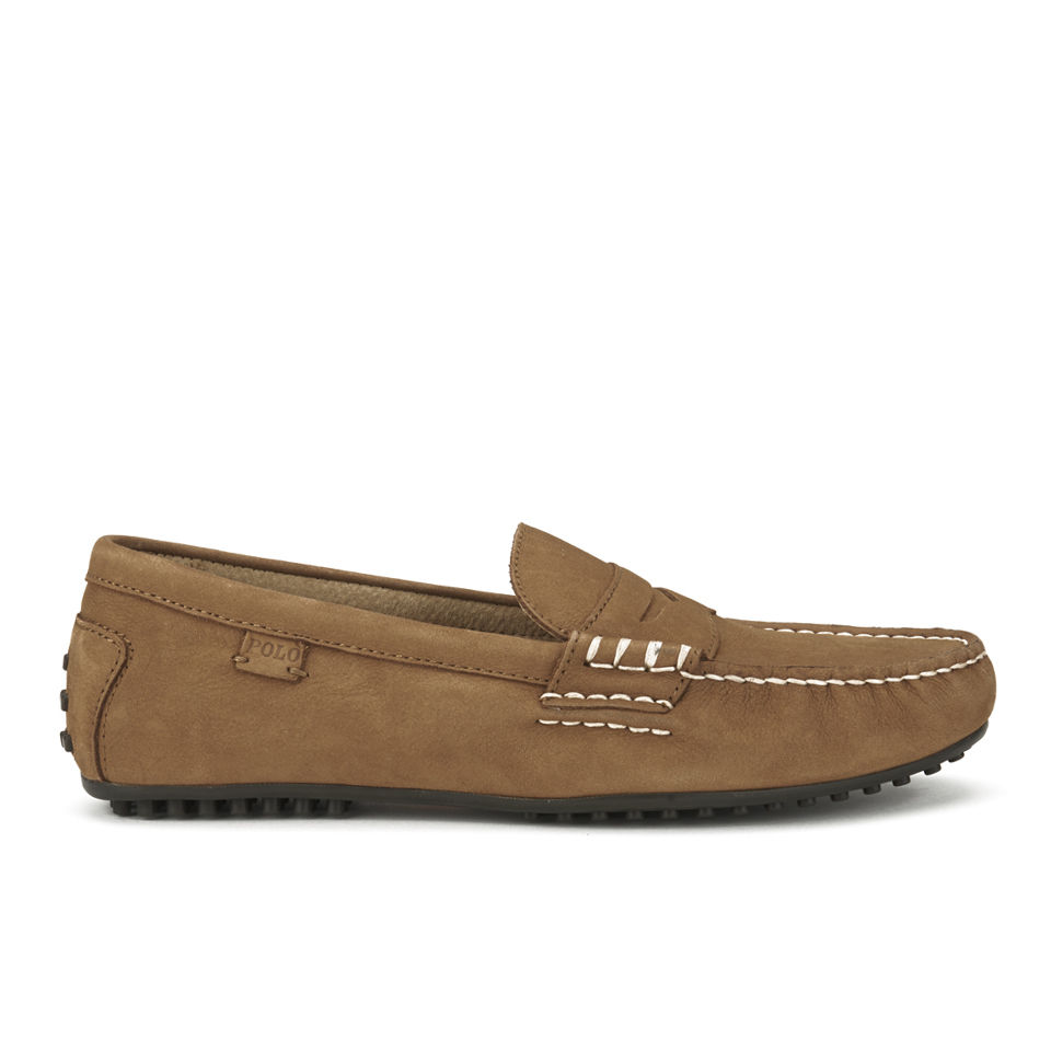 a61e61f46c9 Polo Ralph Lauren Men s Wes Suede Driver Shoes - Polo Tan - Free UK  Delivery over £50
