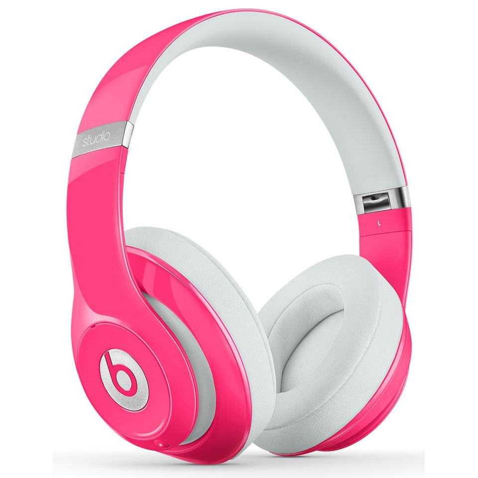 b044241d081 Beats By Dr Dre: Studio 2.0 Noise Cancelling Headphones with RemoteTalk -  Pink. Description
