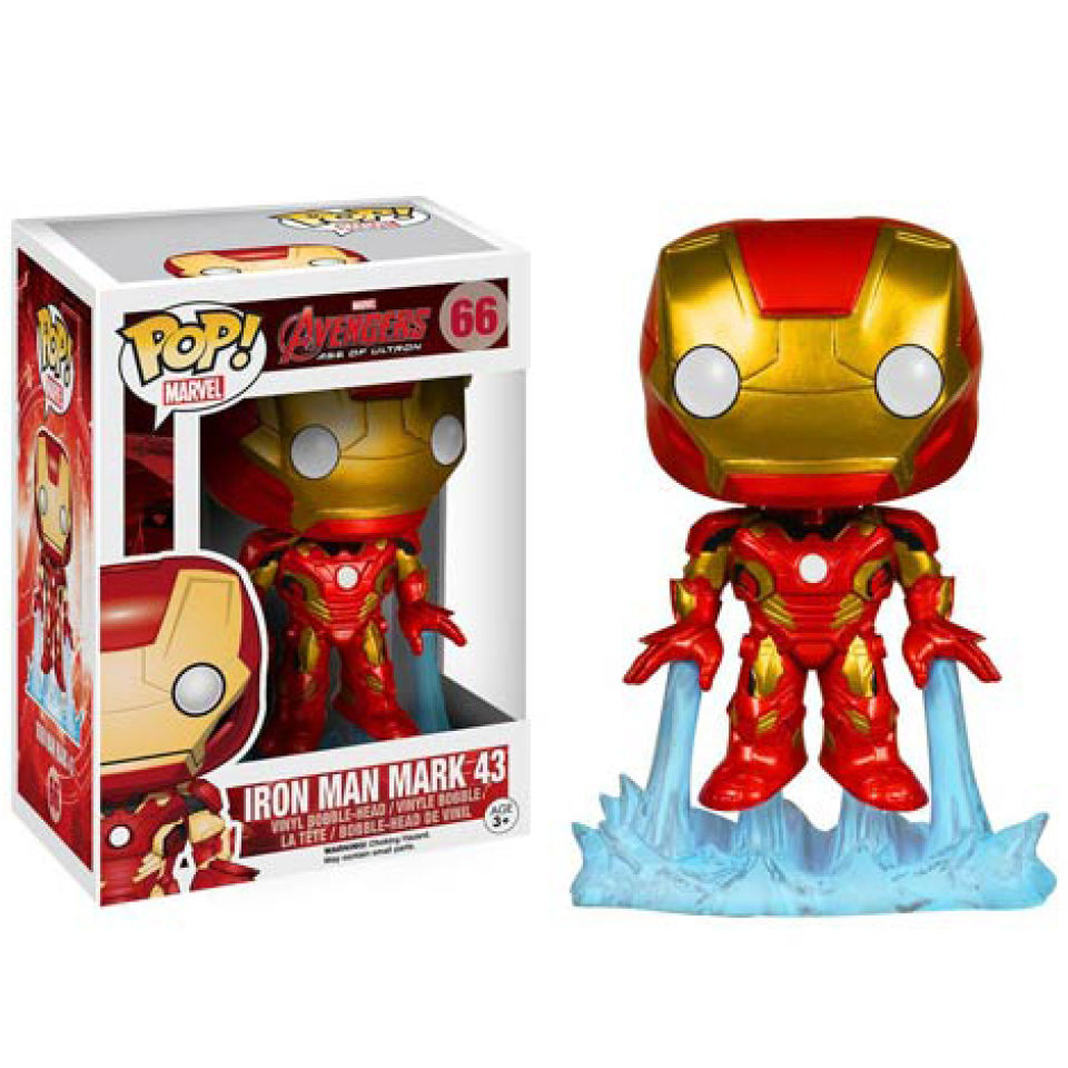 Marvel Avengers Age Of Ultron Iron Man Pop Vinyl Bobble
