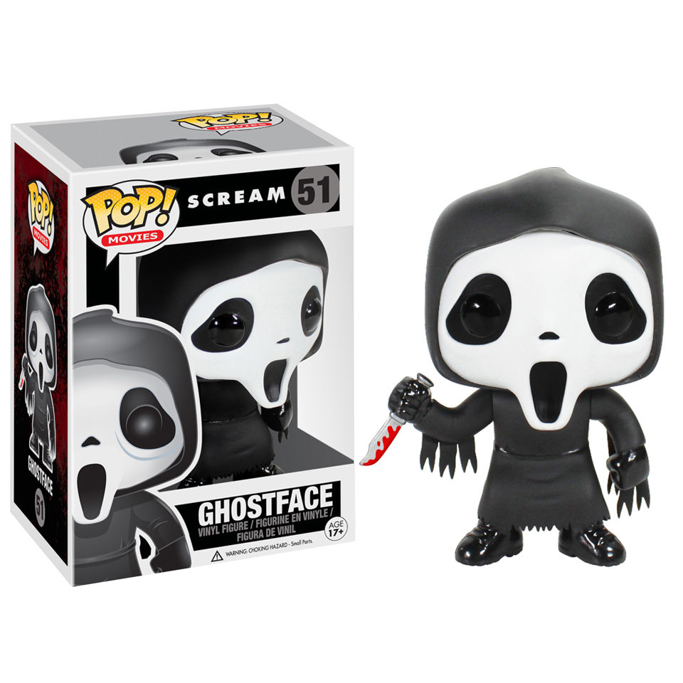 Scream Ghostface Pop Vinyl Figure Merchandise Zavvi
