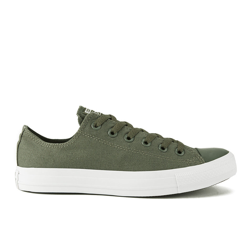 e85bff8d2d8871 ... Converse Men s Chuck Taylor All Star OX Tonal Plus Trainers - Surplus  Green