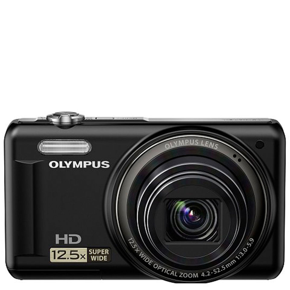 Olympus VR 320 Digital Camera 14MP 125x Super Wide Optical Zoom