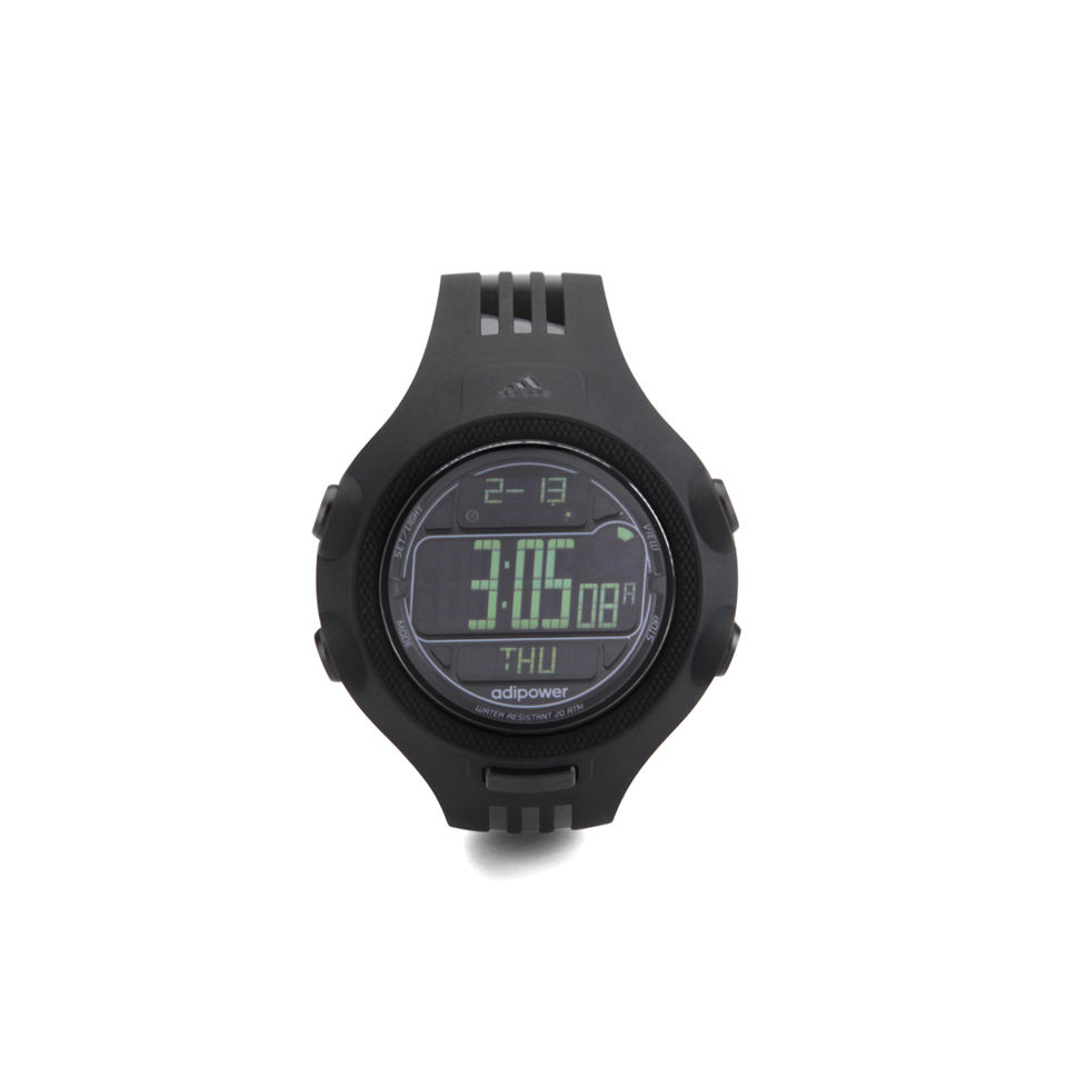 adidas Performance Watches Adipower Tr 53mm Watch - Black ... 8f9a2e3c4