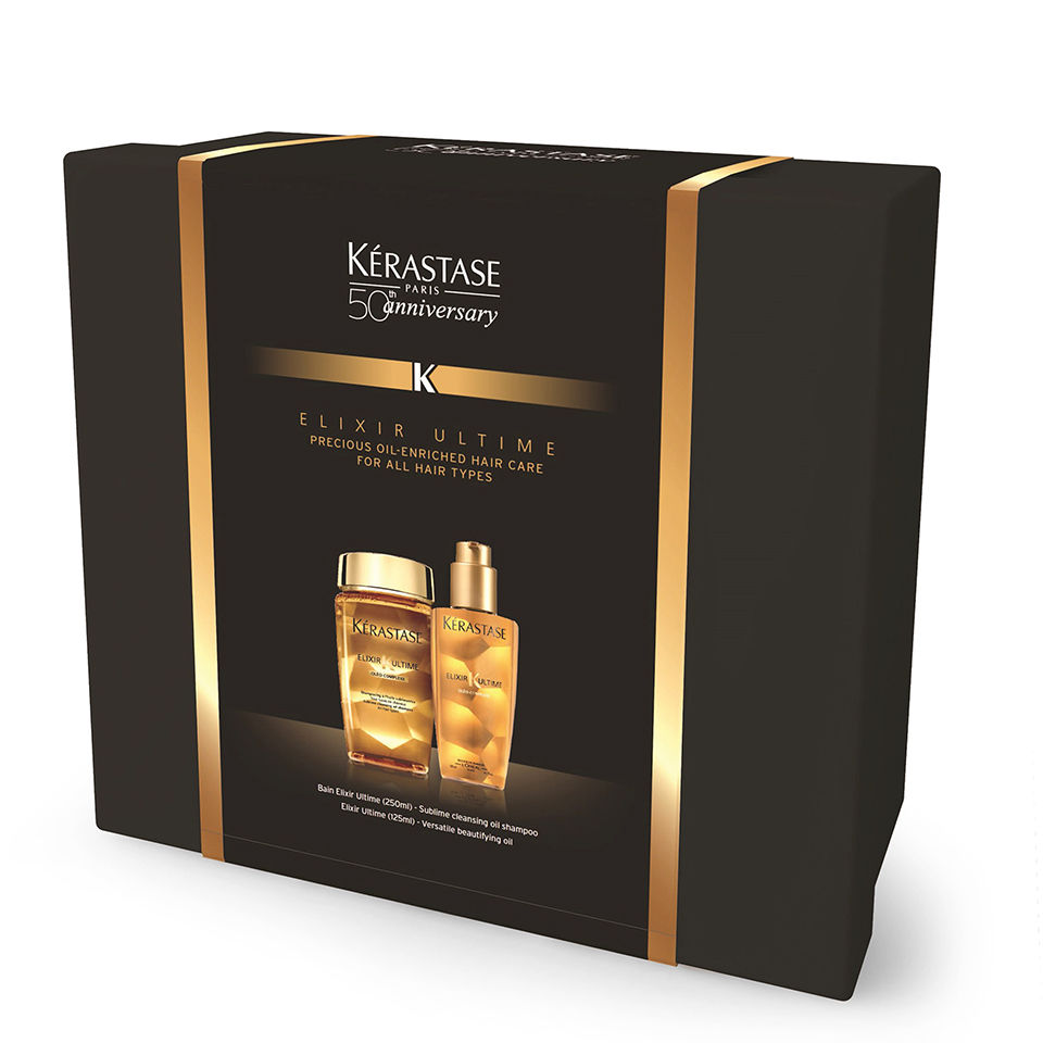 Kérastase Elixir Ultime 50th Anniversary Limited Edition Gift Set (Worth £55) | Free Shipping | Lookfantastic