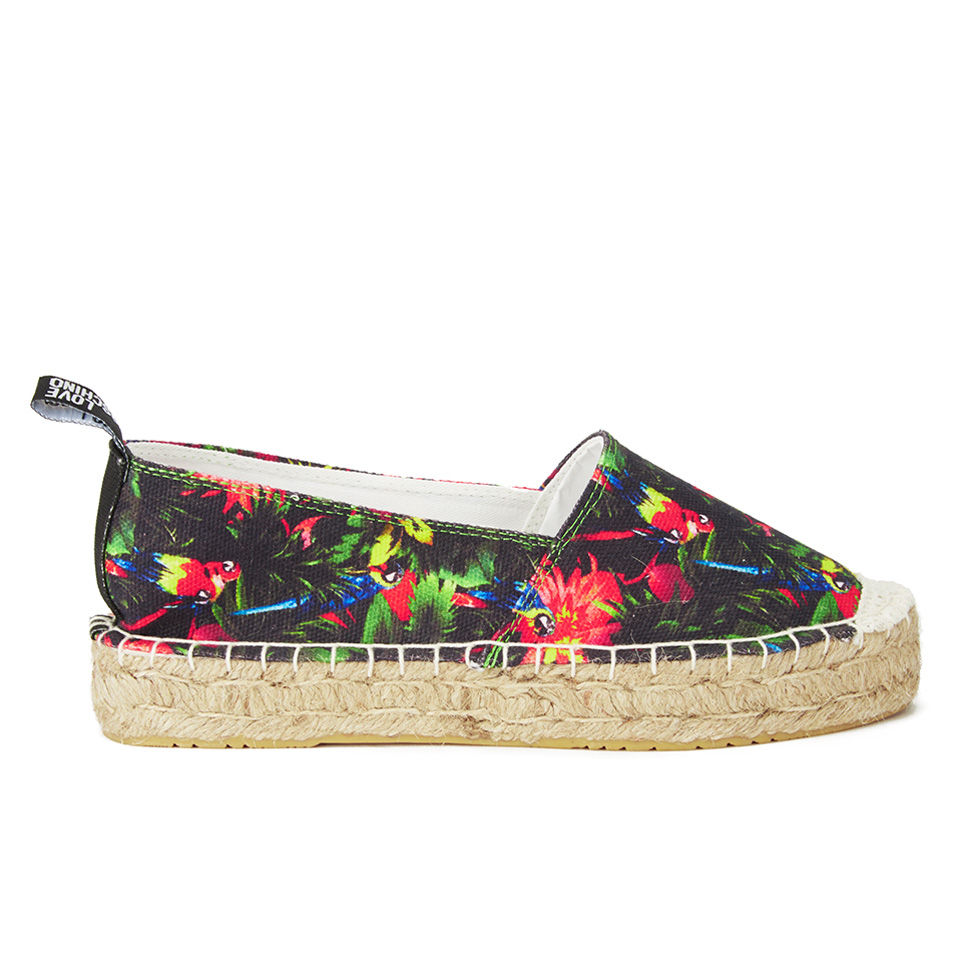 d9792eb957d99 Love Moschino Women's Slip On Printed Espadrilles - Black Multi