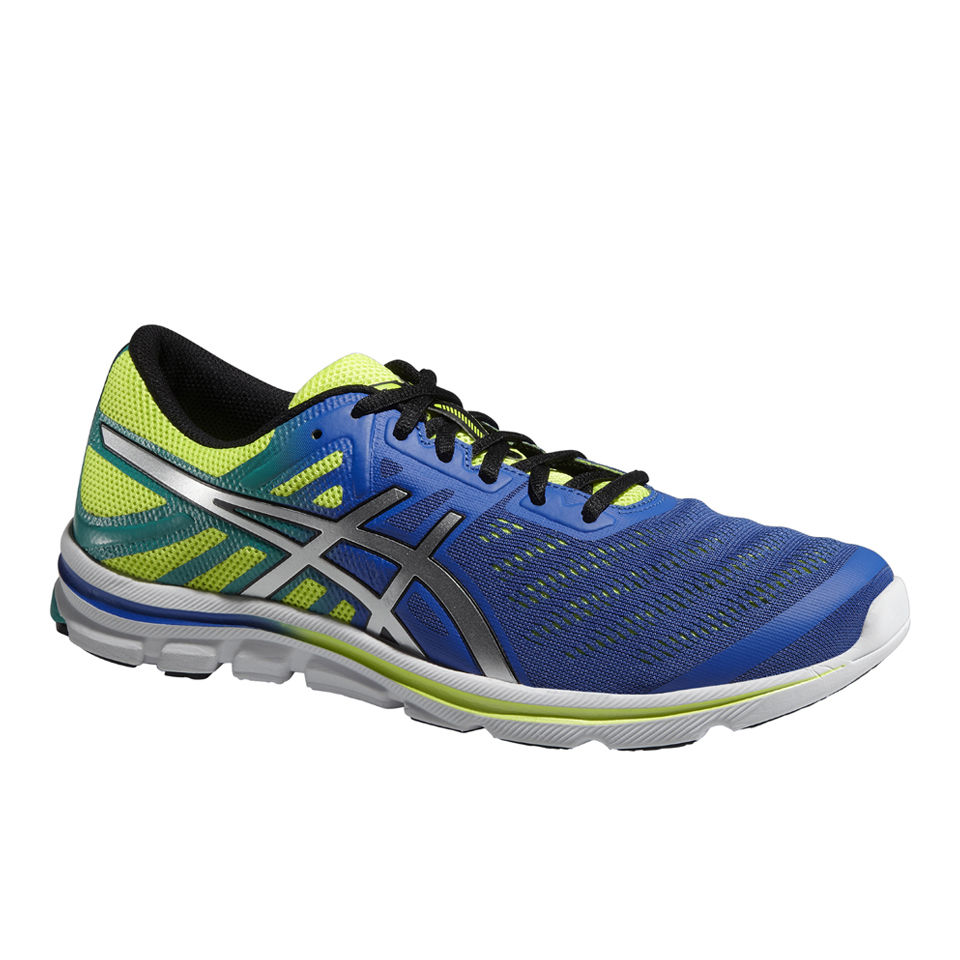 first look search for latest pick up Asics Men's Gel-Electro 33 Natural Running Shoes - Blue/Silver/Flash Yellow