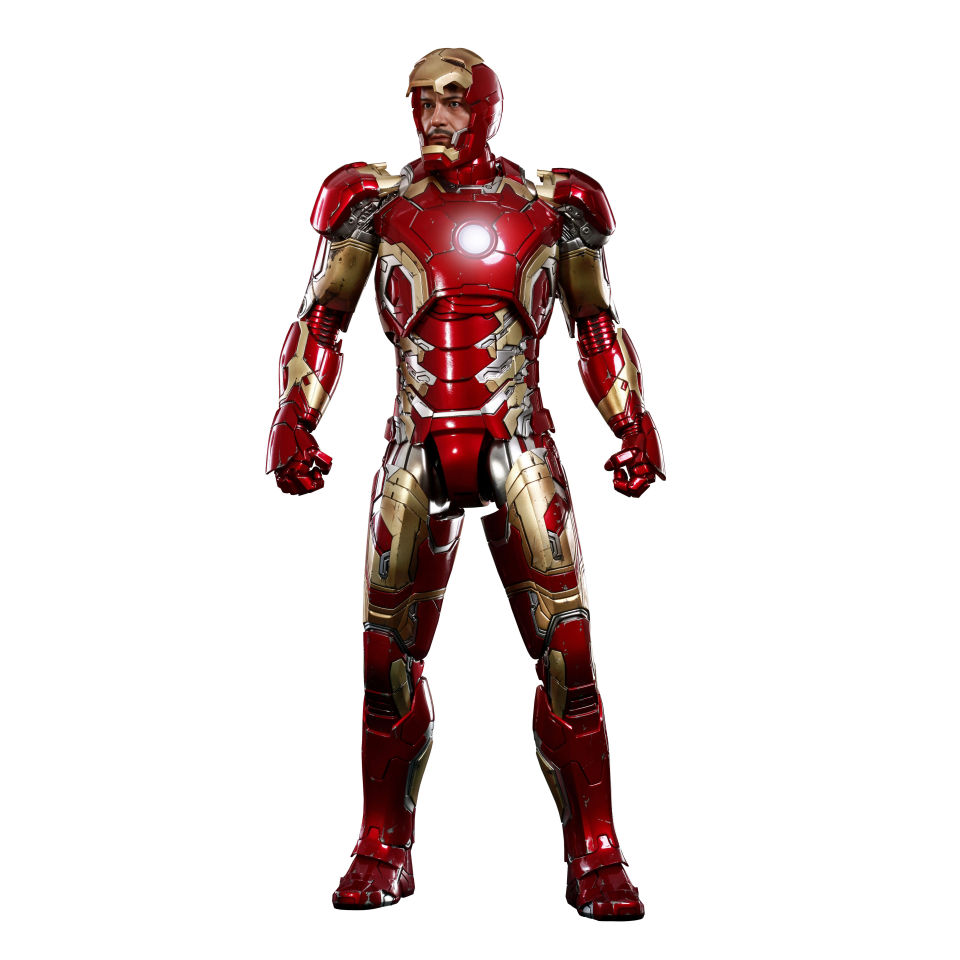 Hot Toys Marvel Iron Man Mark Xliii Diecast Movei