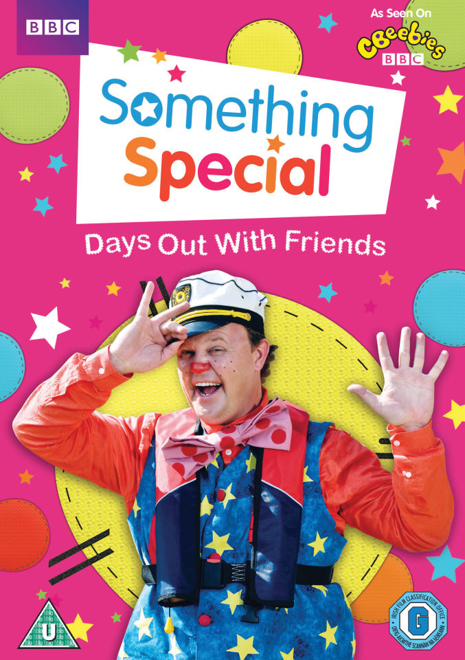Something Special Days Out With Friends Dvd Zavvi