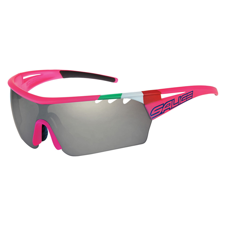 c98d250f0b Salice 006 Lampre Merida Sunglasses - Flo Fuchsia ITA Photochromic Smoke