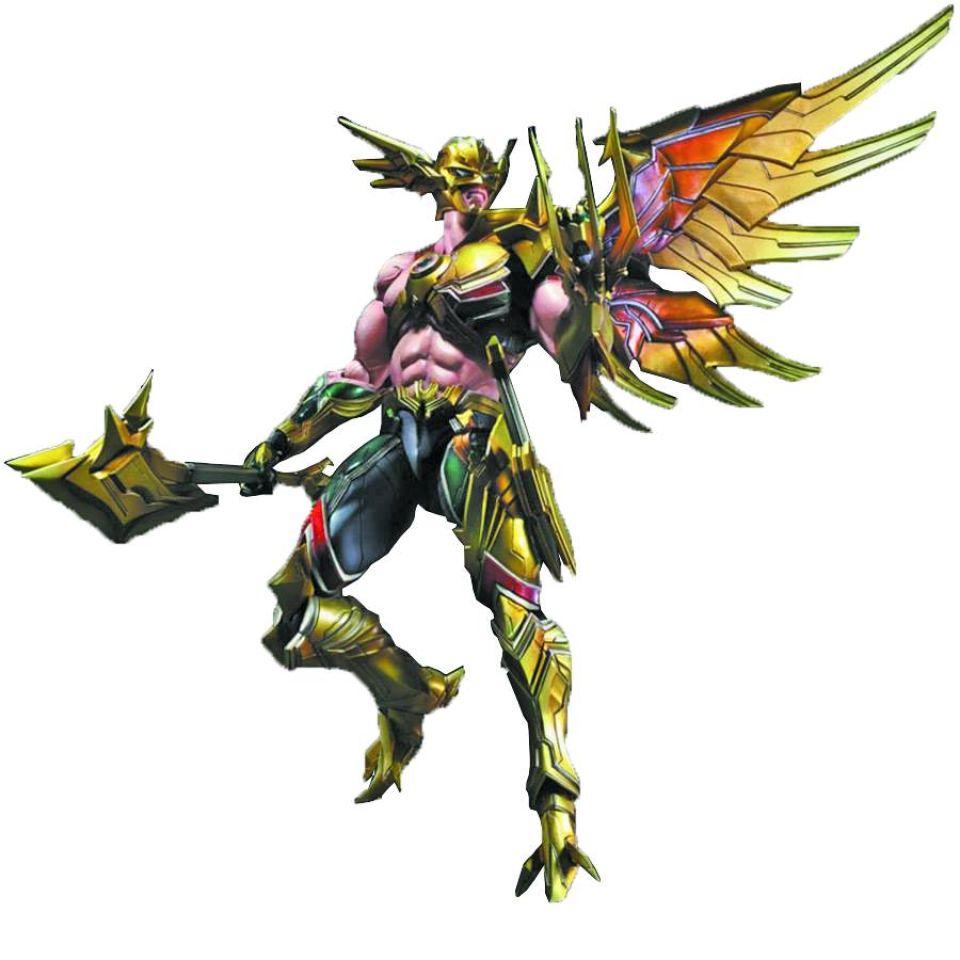 Dc Comics Variant Play Arts Kai Hawkman Action Figure C