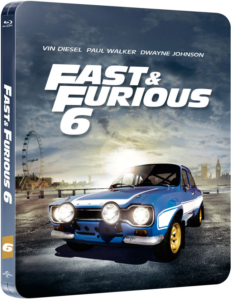 fast furious 6 zavvi exclusive limited edition steelbook limited to 2000 copies and. Black Bedroom Furniture Sets. Home Design Ideas
