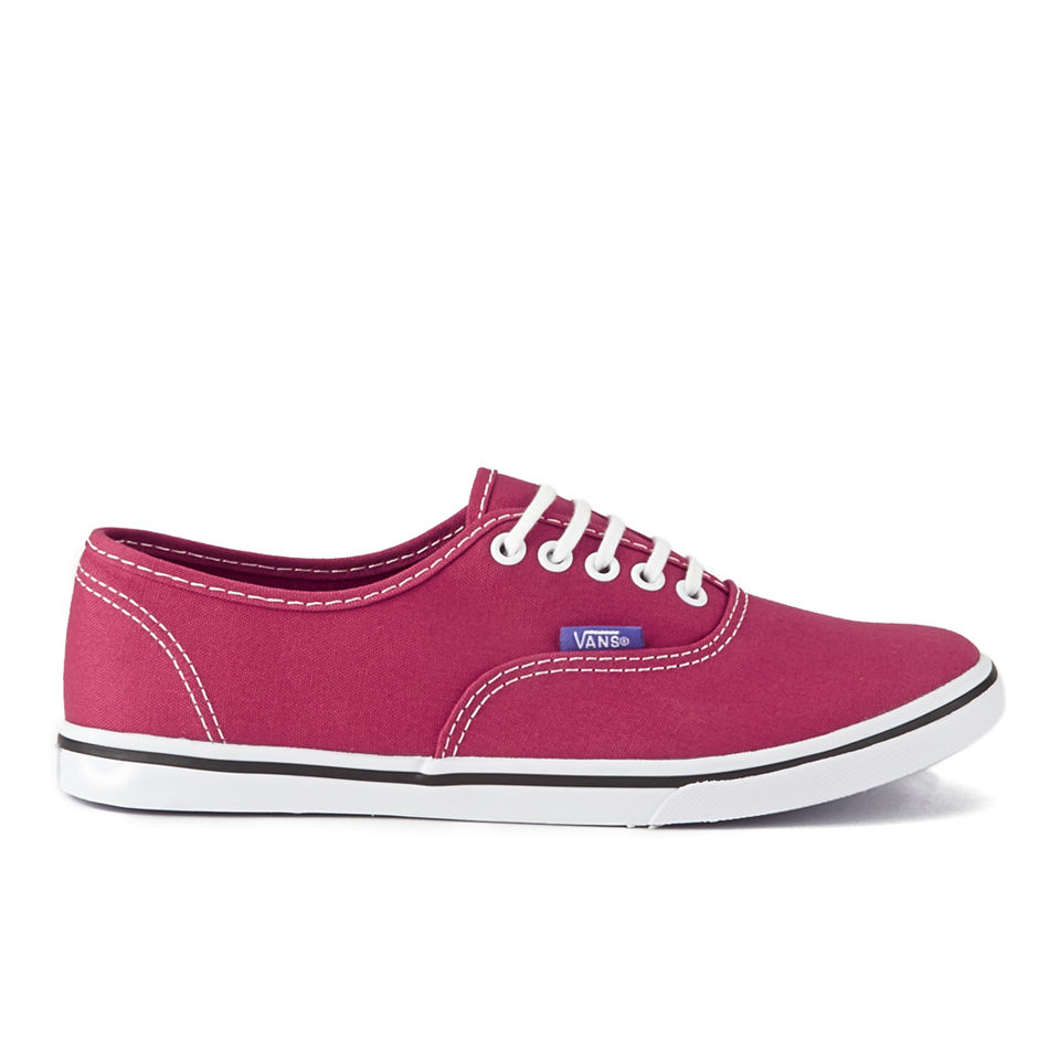 c176111879f Vans Women s Authentic Lo Pro Pop Trainers - Rose Red Purple Iris - Free UK  Delivery over £50