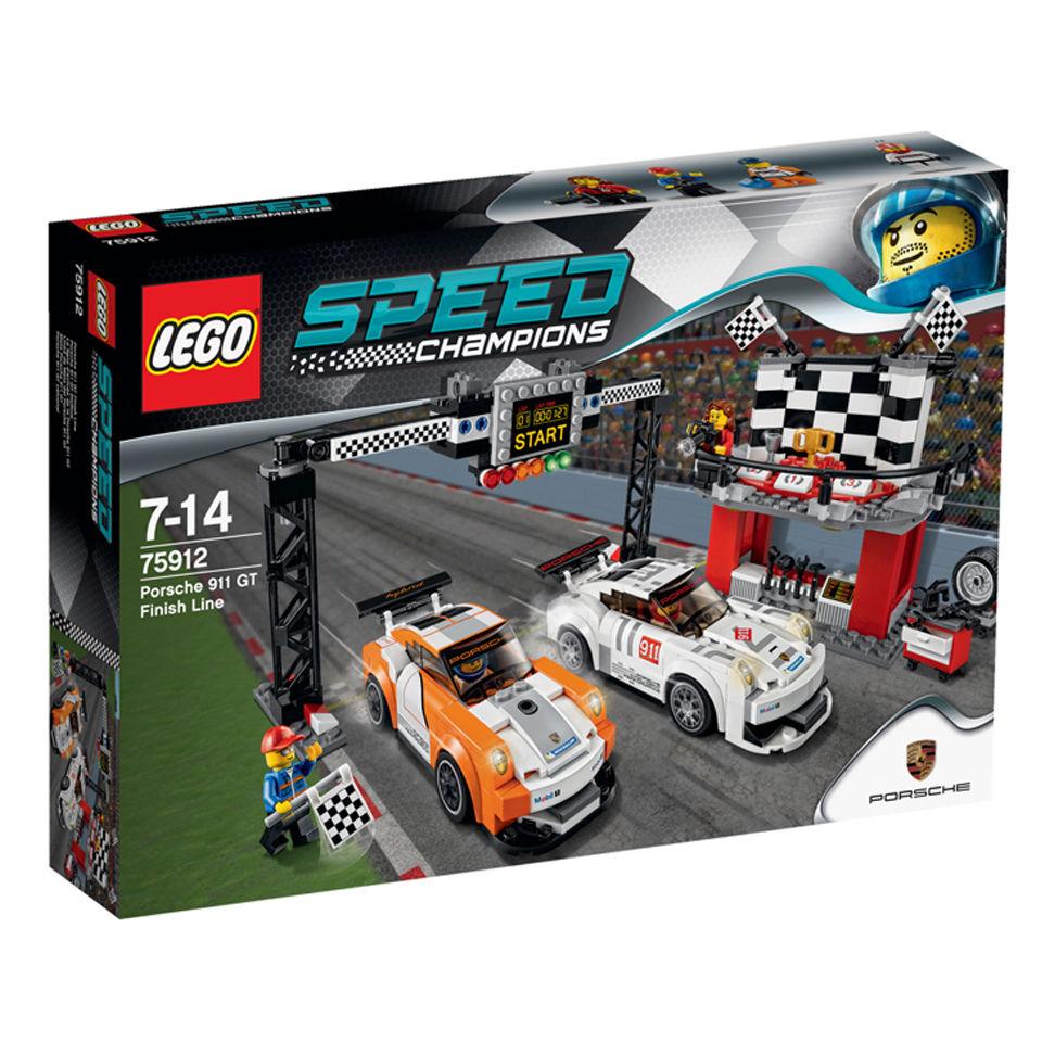 LEGO Speed Champions: Porsche 911 GT Finish Line (75912