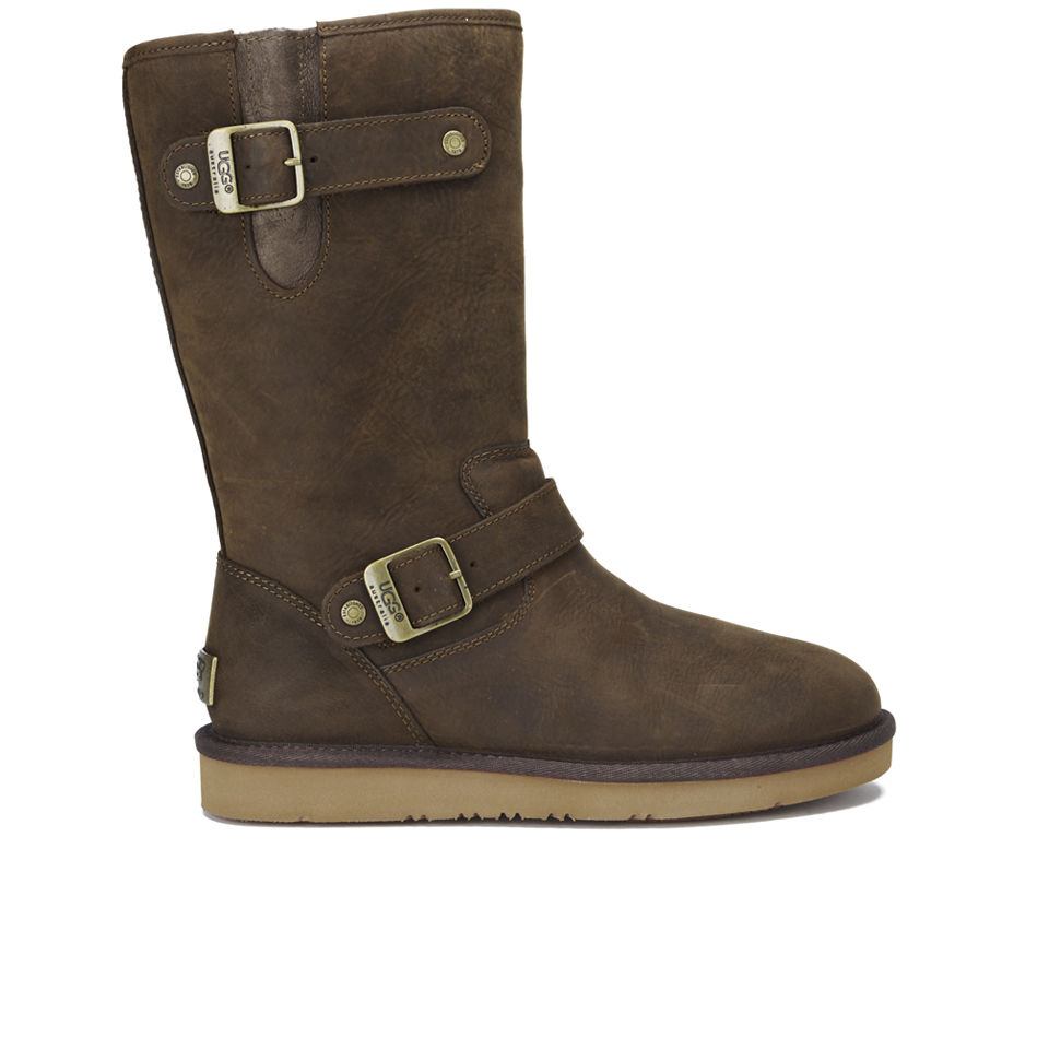 5791c1cff34 UGG Women's Sutter Waterproof Leather Buckle Boots - Toast