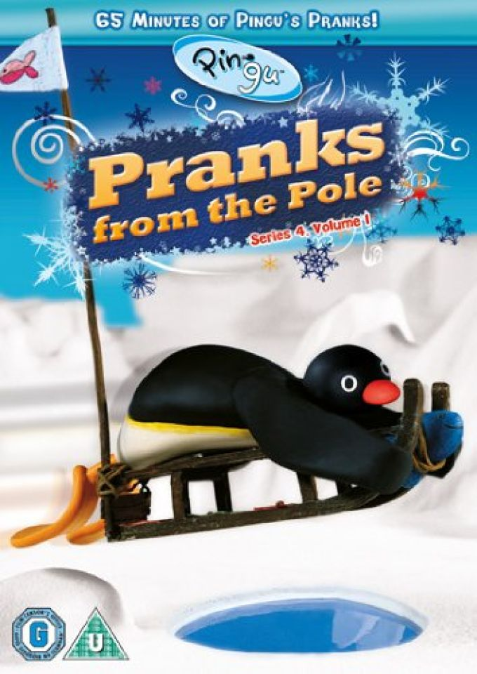 Pingu Pranks From The Pole Dvd Zavvi