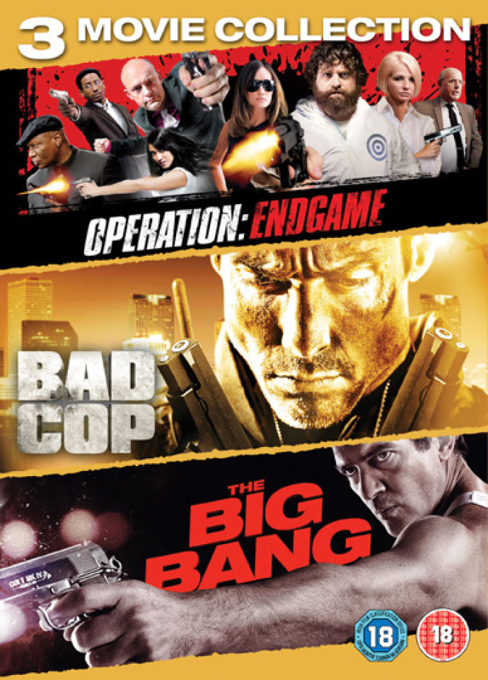 Cop Triple: Big Bang / Bad Cop / Operation: Endgame
