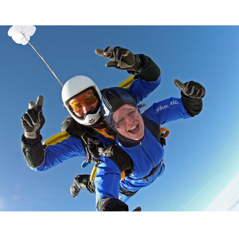 Tandem Skydive in Devon