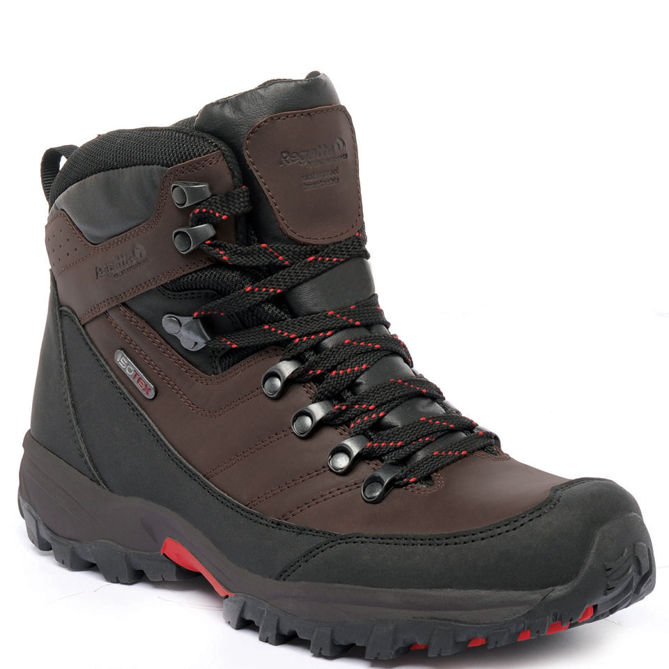fe280626722 Regatta Men's Brookland Mid Hiking Boots - Bracken/Sena Clothing | Zavvi