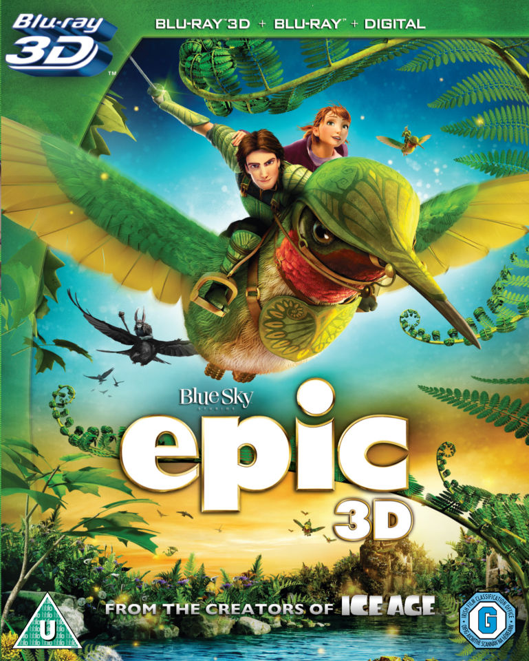 Epic 3D - Triple Play (3D Blu-Ray, 2D Blu-Ray and UltraViolet Copy)