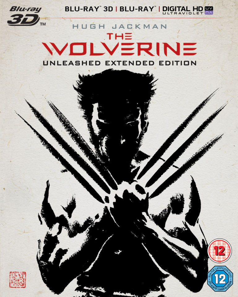 The Wolverine 3D - Unleashed Extended Edition (Includes 2D Version and UltraViolet Copy)