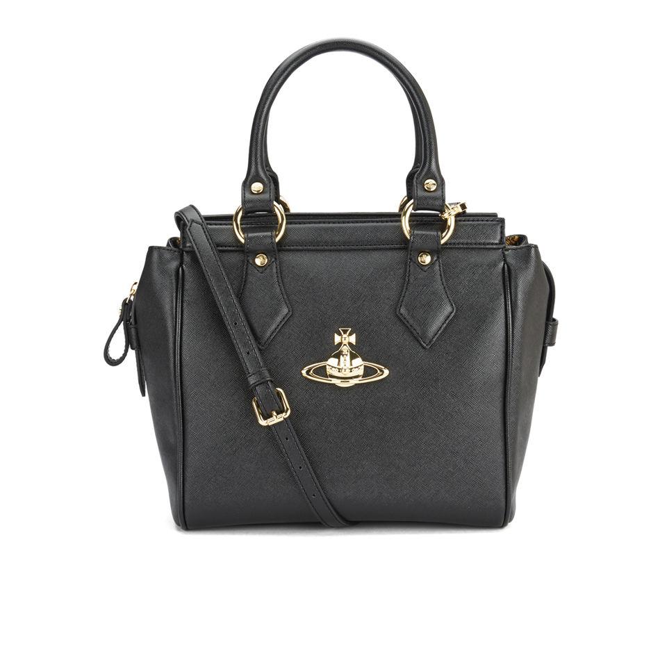 b50a12bd2f Vivienne Westwood Anglomania Women s Divina Tote Bag - Black - Free ...